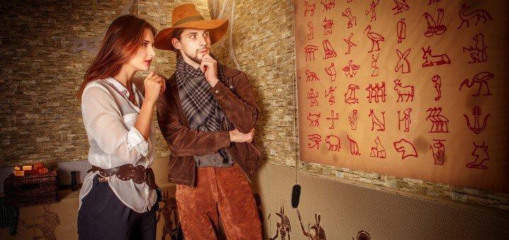 Посещение квест-комнаты «Гробница Фараона» от «REST EXPERT»