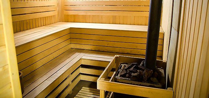 До 4 часов русской бани на дровах для компании до 8 человек в новом комплексе «Sherwood»