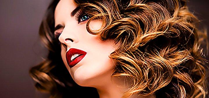 Стрижки, мелирование, растяжка цвета, омбре, ламинирование волос в салоне «Bless»