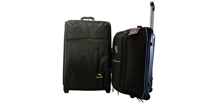 Большой чемодан и средняя дорожная сумка по специальной цене за комплект