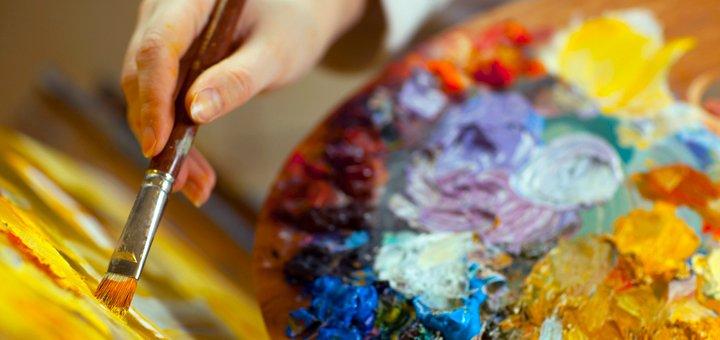 Мастер-класс по созданию картины маслом своими руками в студии «Green Art»