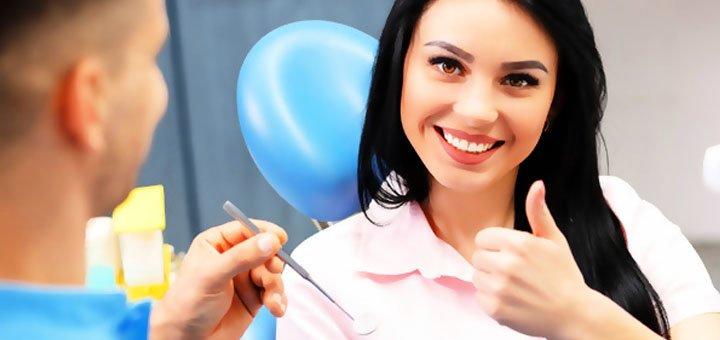 Лечение кариеса с установкой фотополимерной пломбы в стоматологии «Veda Dental»