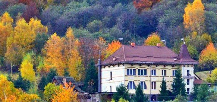 От 4 дней отдыха с двухразовым питанием в отельном комплексе «Перлина Красії» в Карпатах