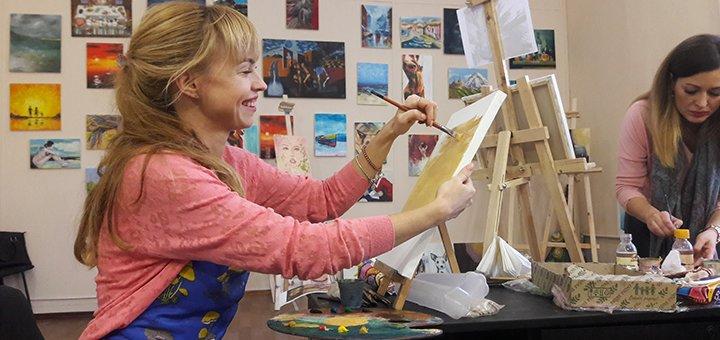 До 2 месяцев базовых курсов обучения живописи для взрослых в арт-студии «DALI»