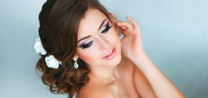 Пробный образ для невесты от профессионального визажиста Ирины Костенко