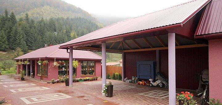 От 3 дней отдыха с двухразовым питанием в усадьбе «Квітка Карпат» в Закарпатской области