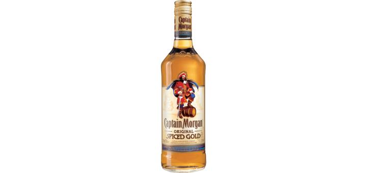 Скидка 39% на Ром Captain Morgan Original Spiced Gold