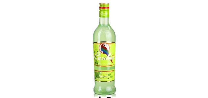 Скидка 54% на ликер Cana Caribia Mojito