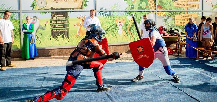 Посещение тренировок по современному мечевому бою для детей в клубе «Князь»