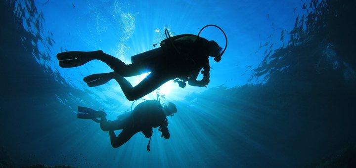 Погружение с аквалангом в дайвинг-клубе «Evolution»