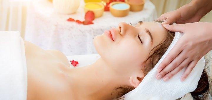 До 5 сеансов массажа лица, шеи, декольте в салоне красоты «Sana Beauty»