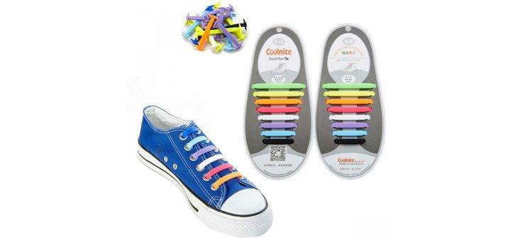 Cкидка до 37 % на детские и взрослые силиконовые шнурки