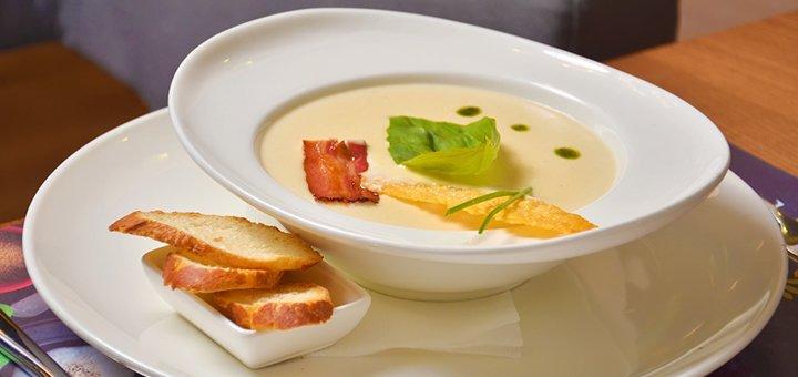 Скидка 50% на всё меню кухни, чайную и кофейную карту в ресторане «The Garden»