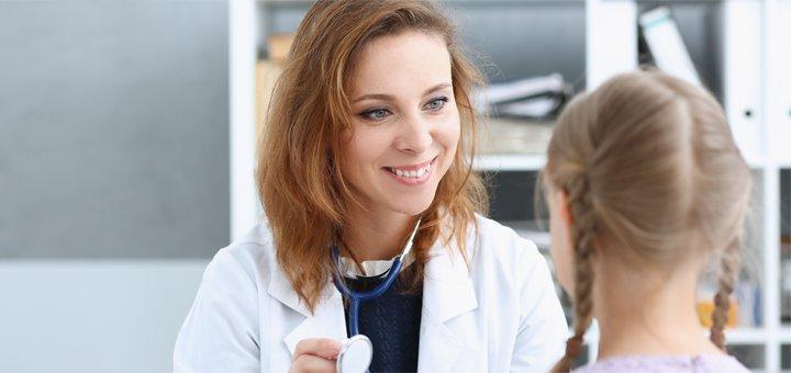 Консультация педиатра, лазерная терапия в центре инновационной медицины «Империя здоровья»
