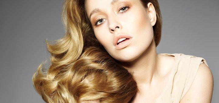 Контурная стрижка и сложное окрашивание волос в салоне красоты «Leo»