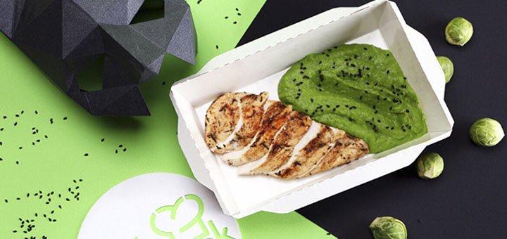Доставка здорового рациона из пяти приемов пищи на целый день от службы доставки «Body cook»