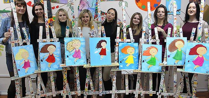 Скидка 50% на все абонементы по занятиям живописью в творческой студии «Безмежність»