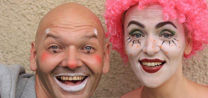 2 билета на спектакль «Клоундайк шоу» от театра «Forte» в Доме актёра