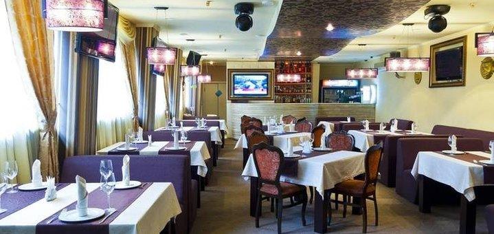 Скидка 50% на меню кухни, мангал меню и коктейли в ресторане «Paris Dakar»