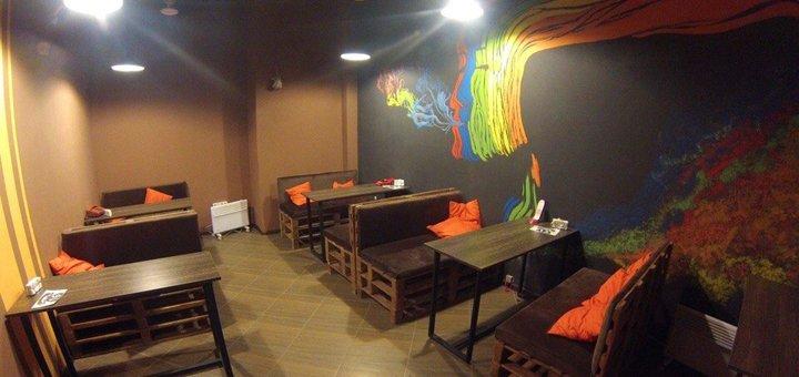 Классический кальян и чай на выбор в кальян-баре «На связи»