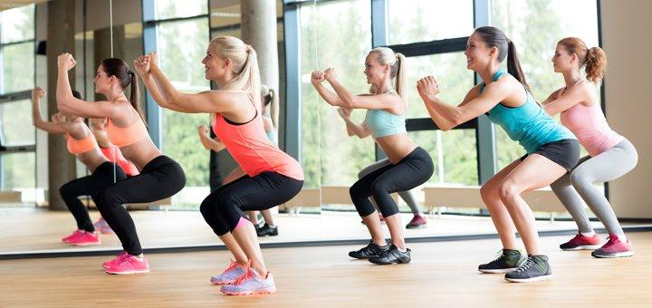 Скидка до 58% на безлимитные занятия и массаж в женском клубе «Фитнес River»