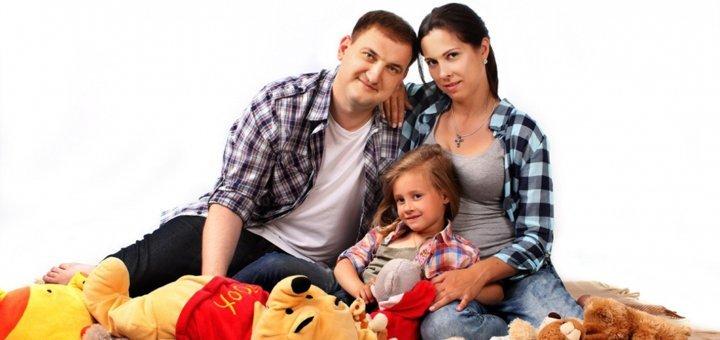 Семейная фотосессия от фотостудии «Zefir»