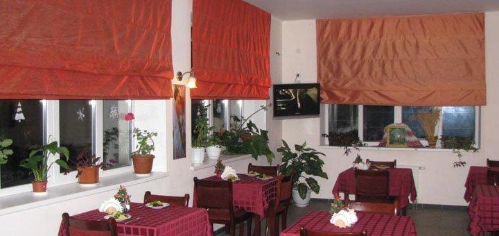 От 4 дней отдыха с питанием в отеле «Сани» в Трускавце рядом с бюветом минеральных вод