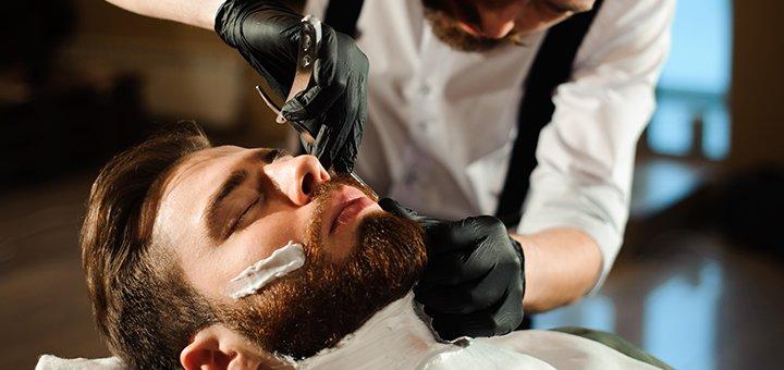 Мужская стрижка, укладка, коррекция бороды в салоне красоты «Beauty Shop L.N.V»