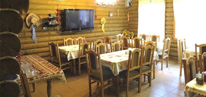 От 4 дней отдыха с питанием в отеле «Верховинский Двор» возле курорта Красия