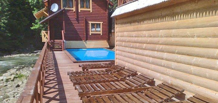 От 3 дней отдыха с питанием и посещением сауны в отеле «Пацьорка» вблизи Буковеля