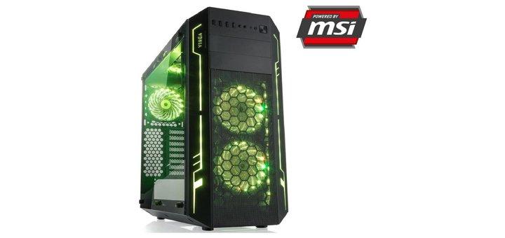 Покупай игровой компьютер Vinga — получай в подарок гироборд!