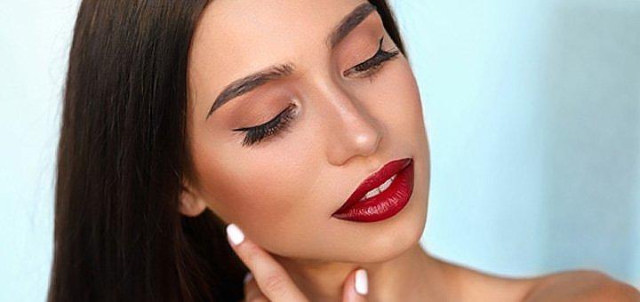 Скидка до 71% на татуаж век, бровей и губ в центре красоты и здоровья «Оберег»