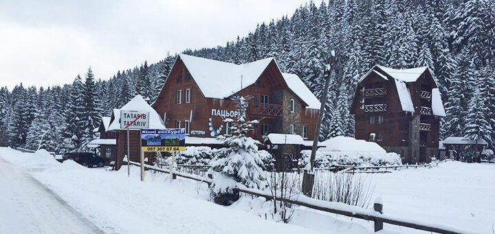 От 3 дней отдыха в январе с двухразовым питанием в отеле «Пацьорка» вблизи Буковеля
