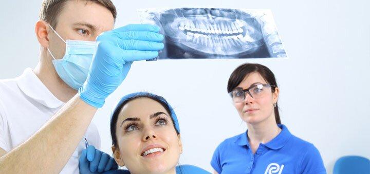 Установка фотополимерных пломб, лечение глубокого кариеса в клинике «Professional Dental»