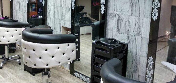Кератиновое восстановление, выпрямление волос в студии красоты Тины Хиврич