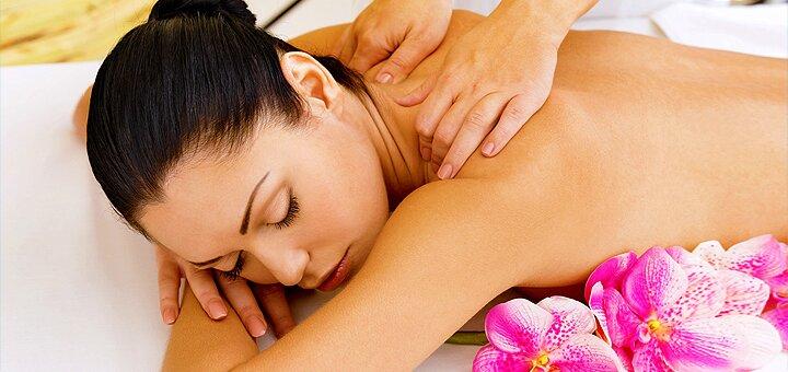 Релакс-массаж с теплым шоколадным муссом в студии красоты «Нова-Я»