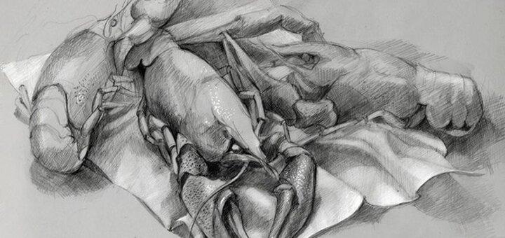 Скидка 33% на курс академического рисунка в творческой студии «Безмежність»