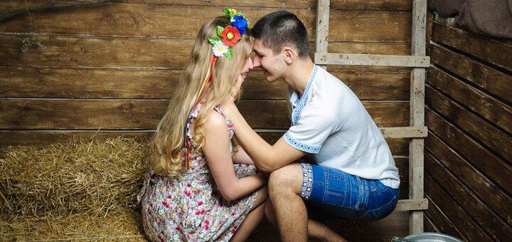 Студийная фотосессия «Love Story» ко Дню Влюбленных от фотографа Владислава Леви