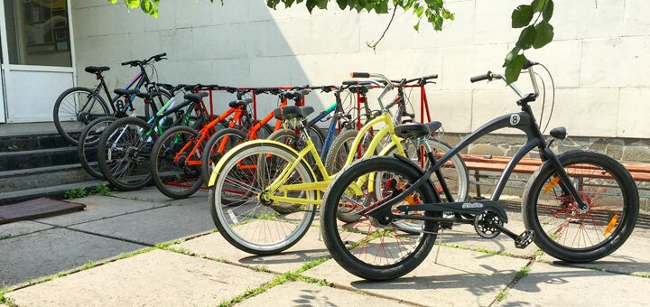 Скидка 50% на прокат велосипедов и роликов от центра «KievMotion»