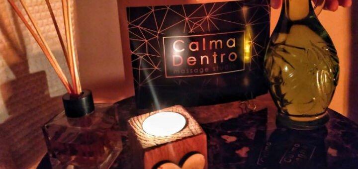 Расслабляющий массаж в студии массажа «Calma Dentro»