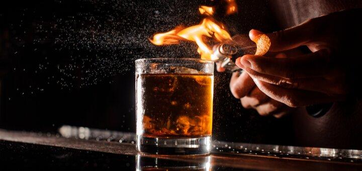 Скидка 40% на любые коктейли в баре-ресторане «DOT53»