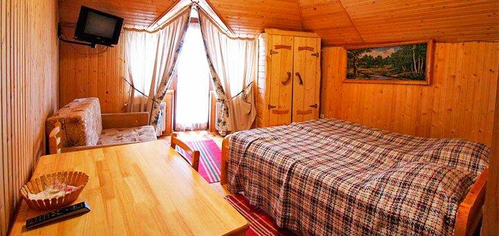 От 3 дней отдыха в августе в отеле «Гірський Прутець» в Полянице на берегу реки Прут