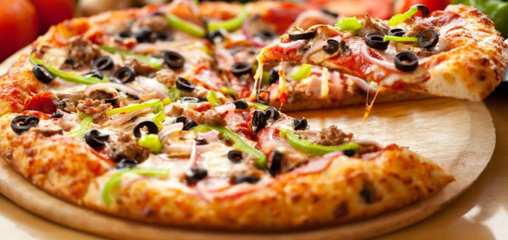 Скидка 50% на итальянскую пиццу от онлайн-ресторана «Food-24»
