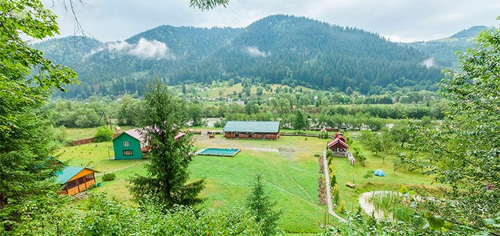 7 дней в лагере отдыха для взрослых «Де Друзі» в Ивано-Франковской области