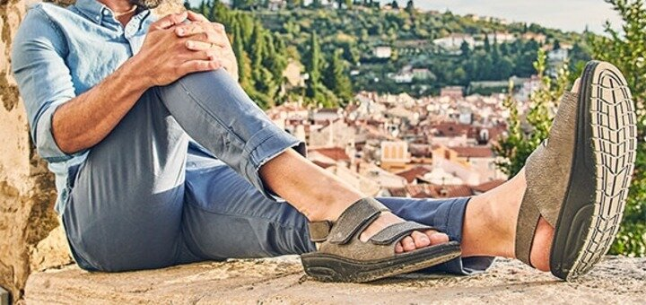 Скидка 41% на мужские сандалии 4.0 Pure
