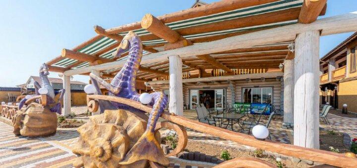 От 2 дней отдыха в отеле «Морской Пегас» на первой линии от моря в Железном Порту
