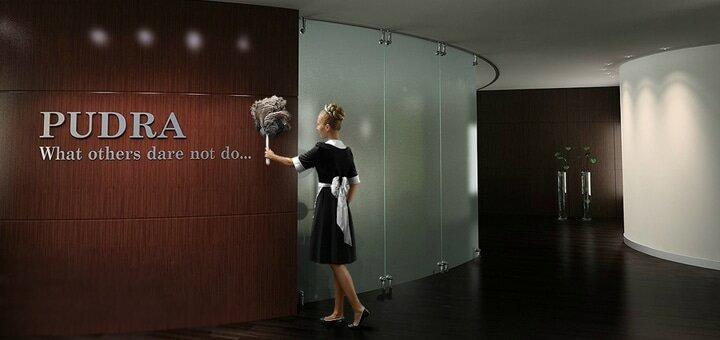 Маникюр, педикюр с покрытием гель-лаком в бутик-салоне премиум-класса «Pudra»