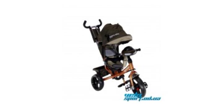 Скидка 13% на детский трехколесный велосипед Crosser One колеса EVA