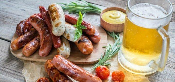 Скидка до 50% на все меню кухни, алкогольные коктейли и пиво в гастропабе «Горчица»