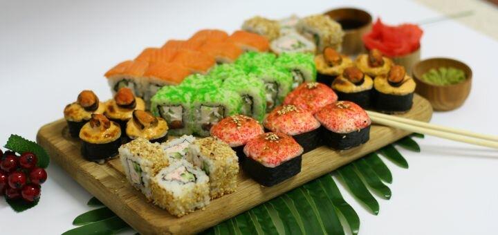 Скидка 60% на килограммовый суши-сет «Хокудай» в магазине «Суши Сет»